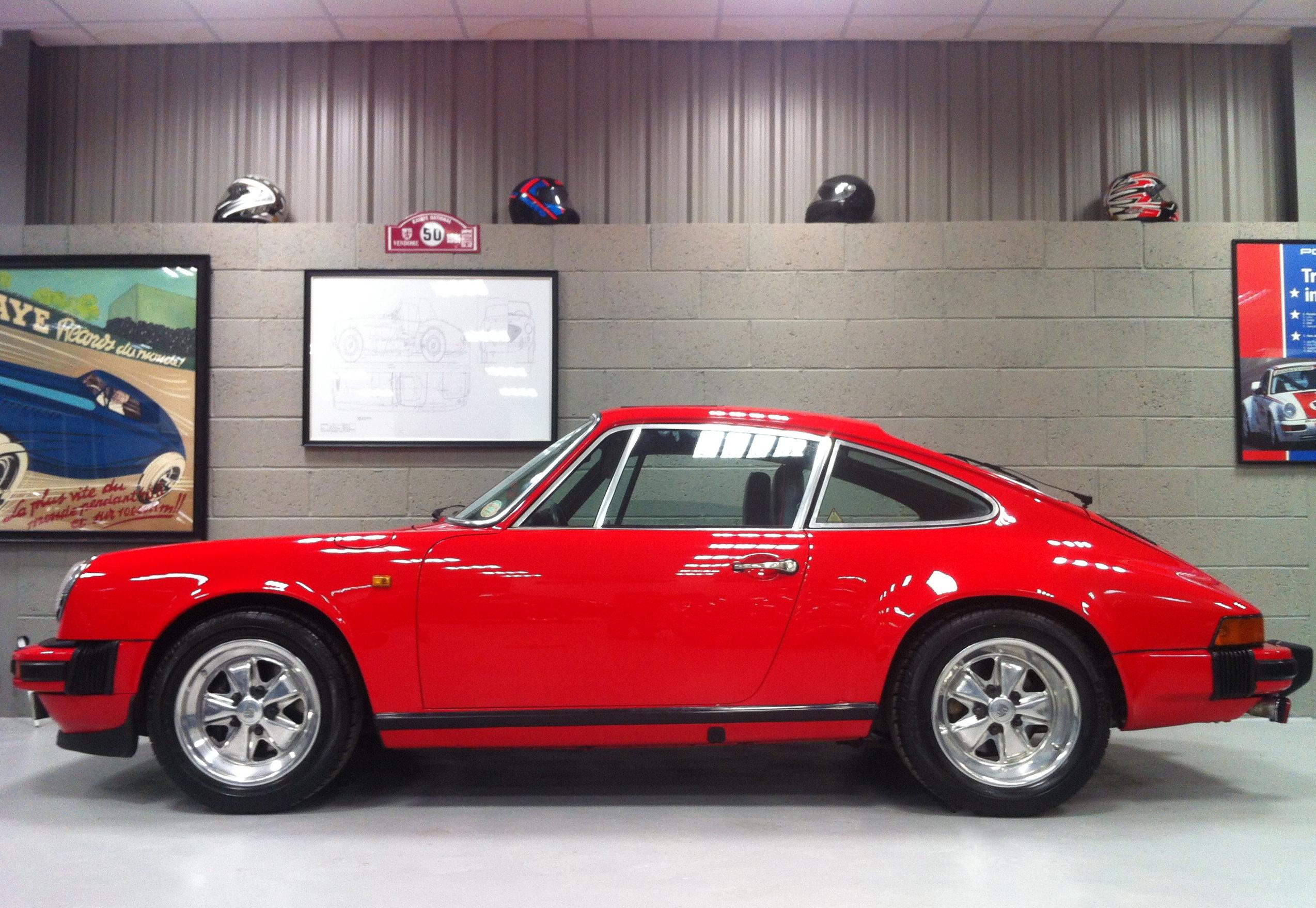 Porsche 911sc Red 1980 Border Reiversborder Reivers