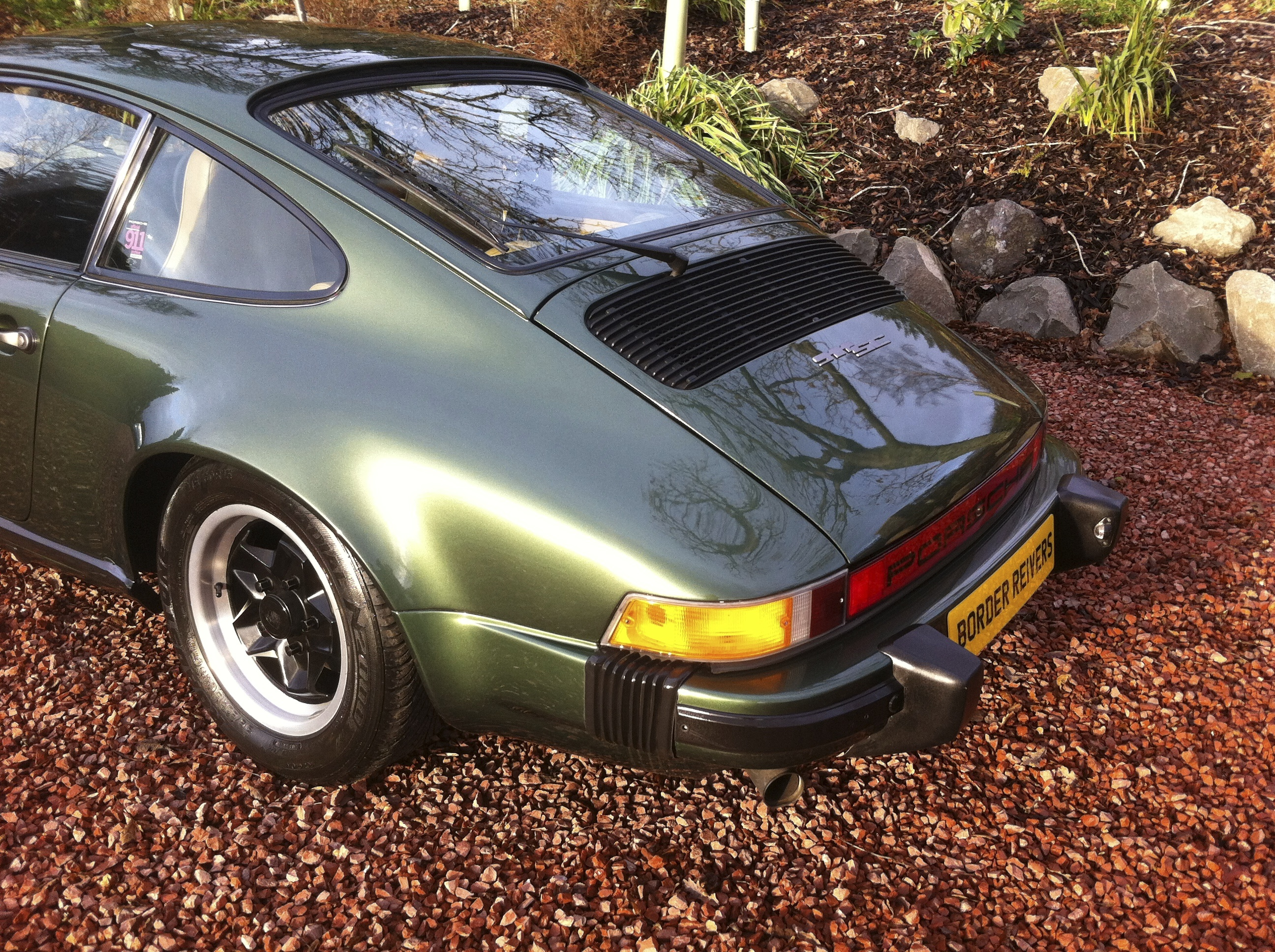 Porsche 911sc Green 79 Border Reiversborder Reivers