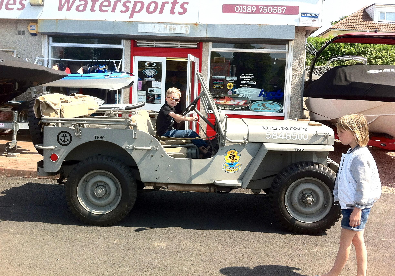 1943 WW2 Willys Ford Jeep Border ReiversBorder Reivers