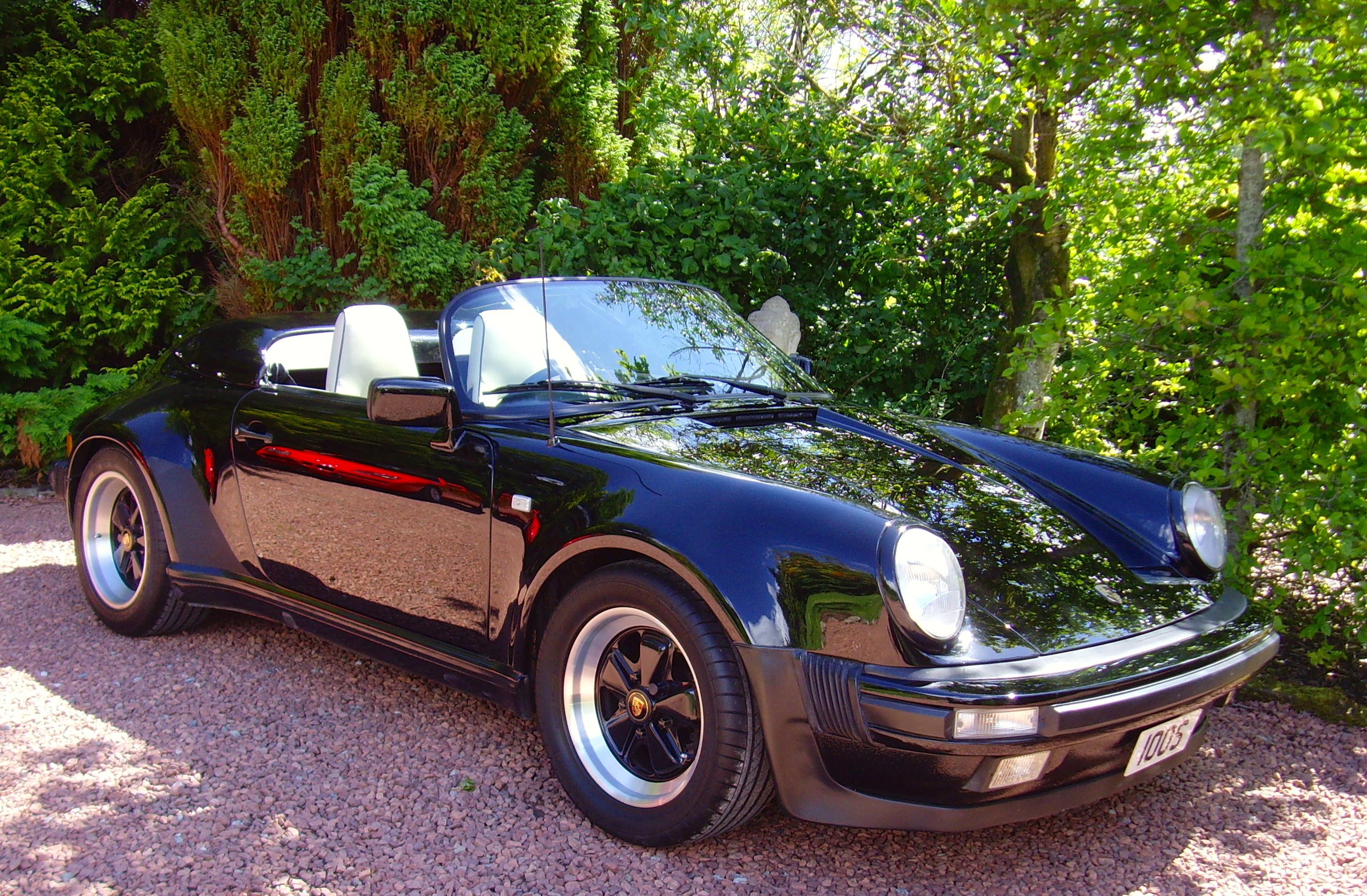 Porsche 911 Speedster Rhd Border Reivers