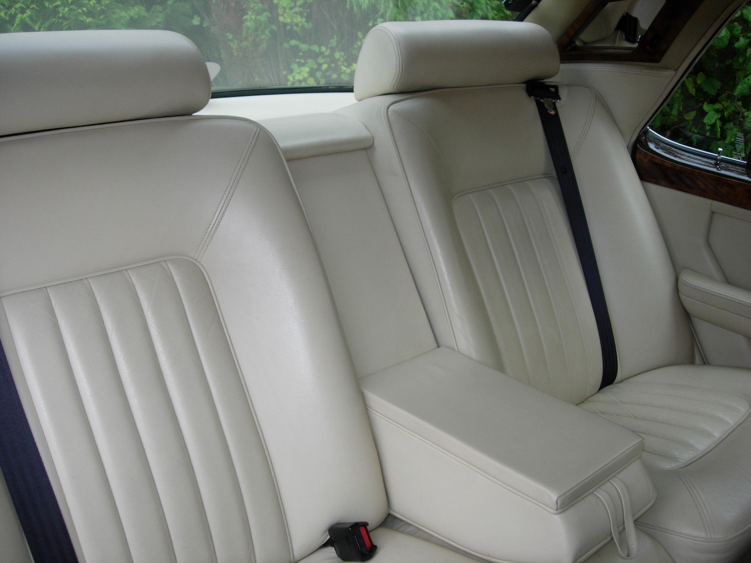 rear seat back