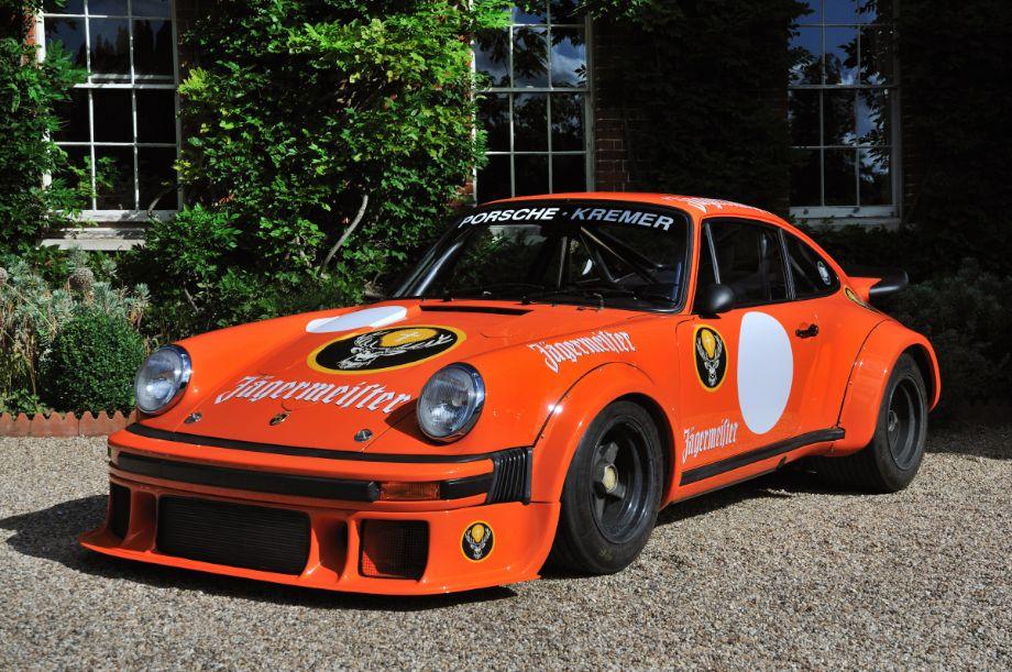 Jägermeister Porsche 934/5 at Classics at Castle