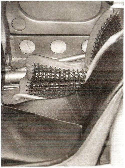 machanics seat 550