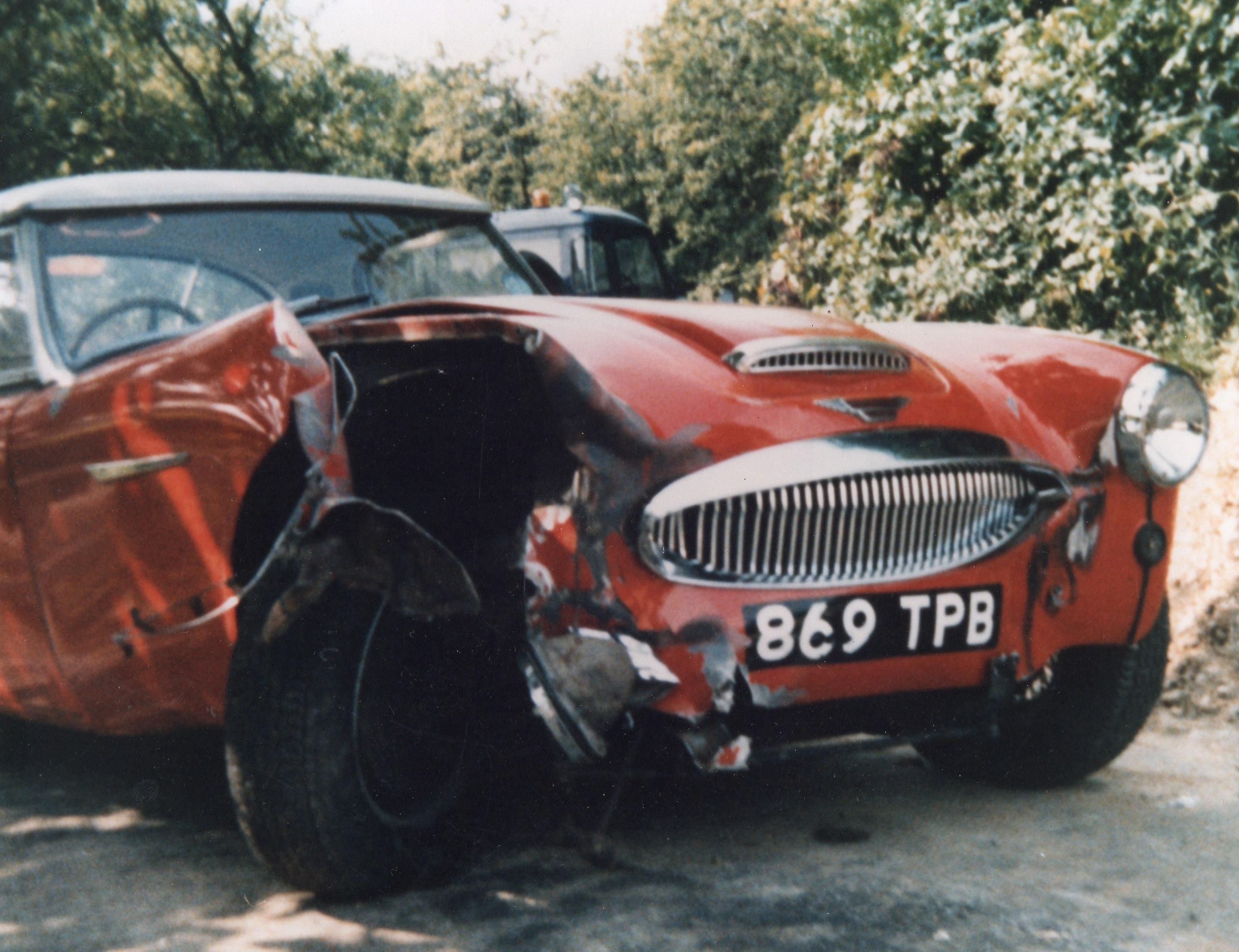 869 TPB 1 Race Damage front