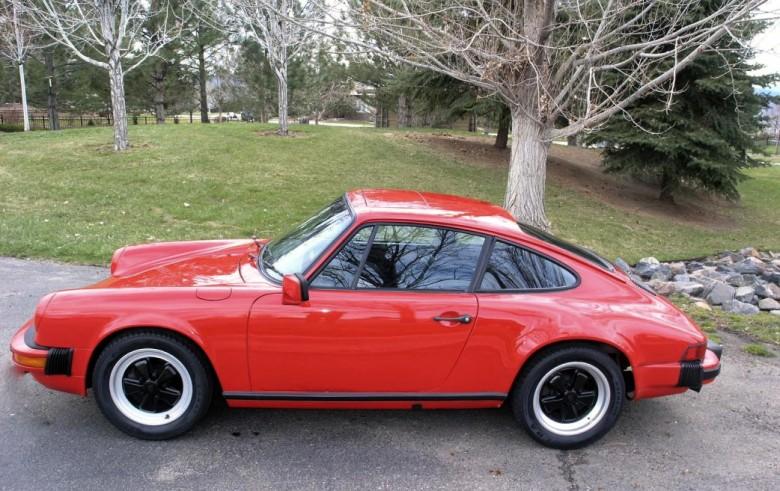 911SC 1980 39000 miles time warp