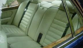 bentley rear seats
