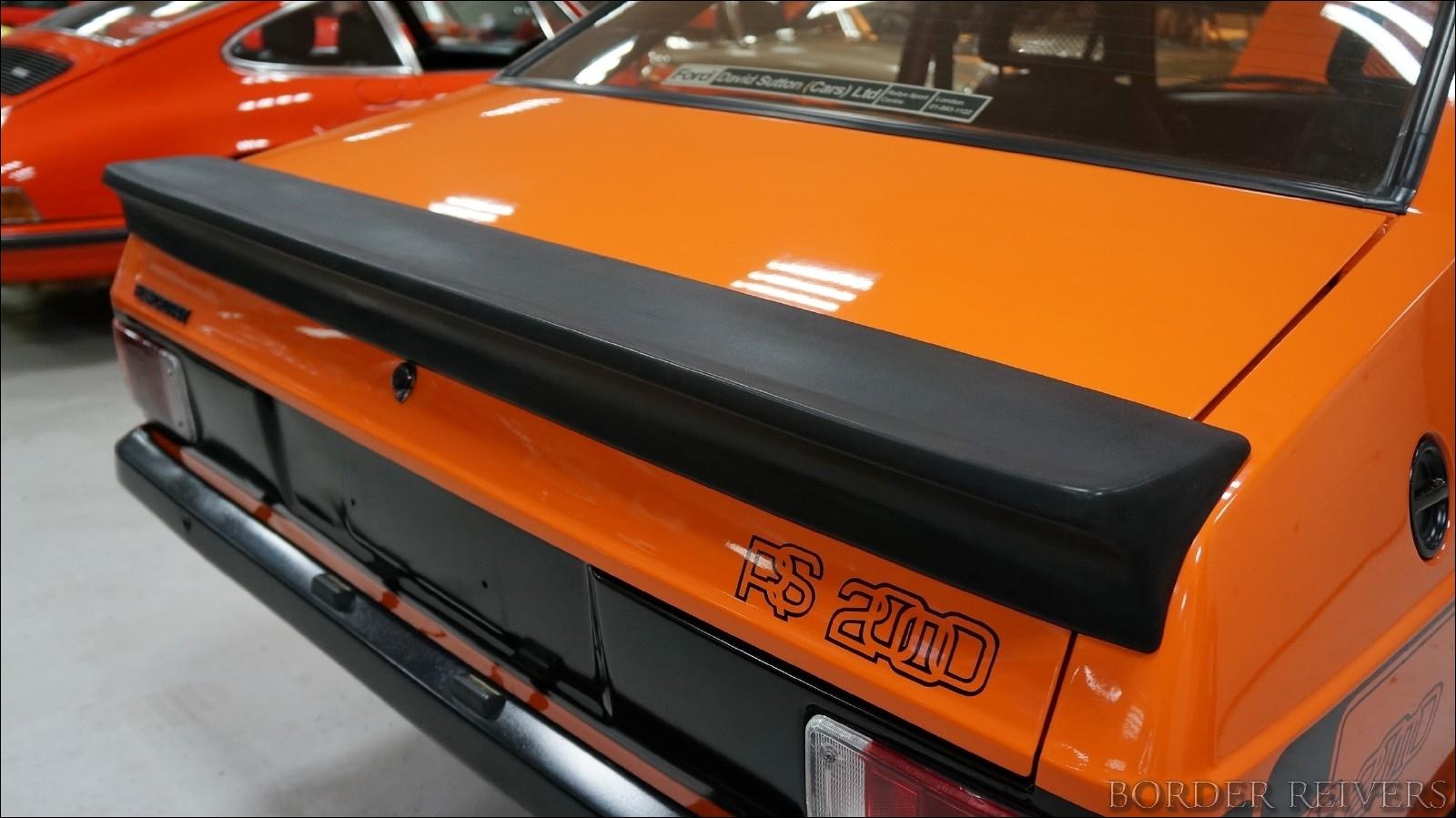 Ford Escort RS2000 1980 - Border ReiversBorder Reivers
