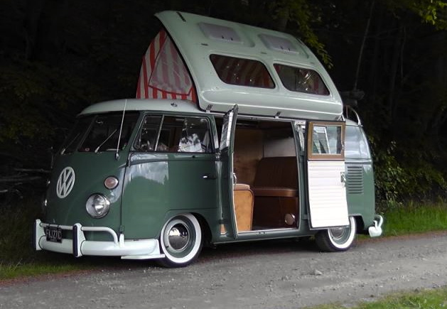 Vw Camper 1964 Double Door Border Reivers