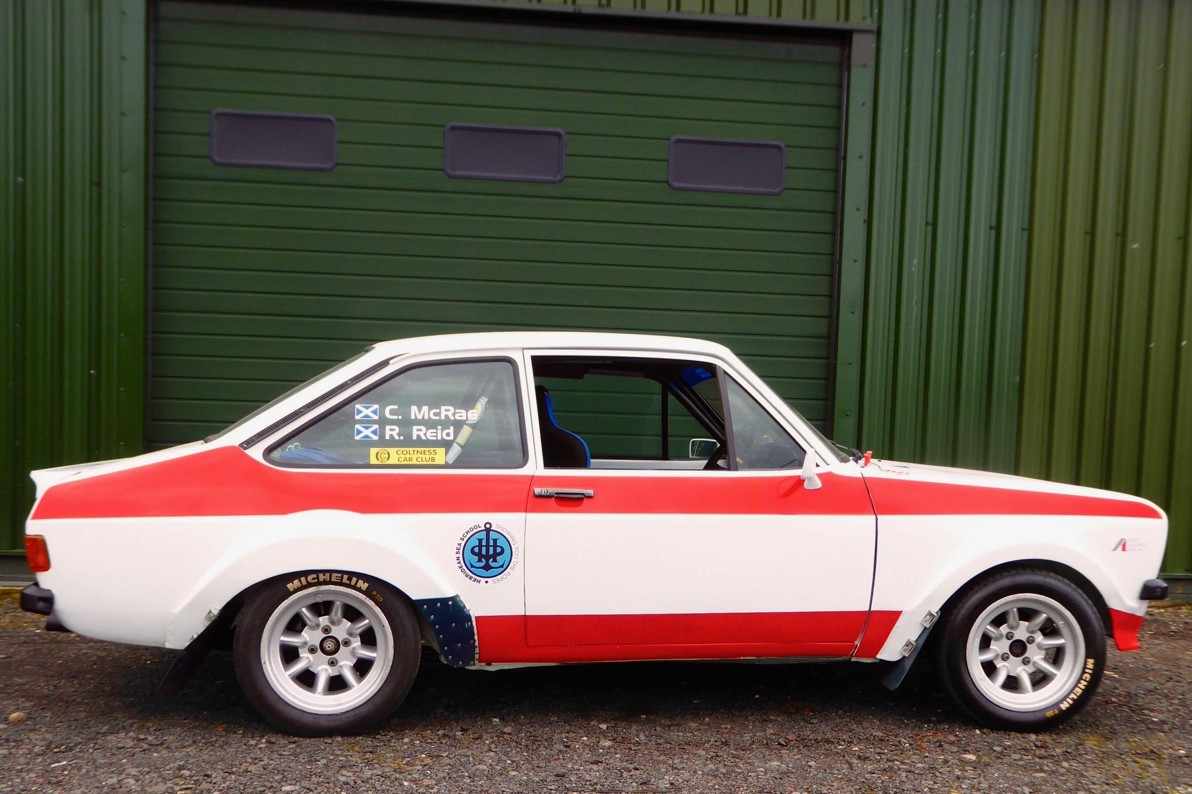 Colin Mcrae Robert Reid Rally Winning Ford Escort Mk2